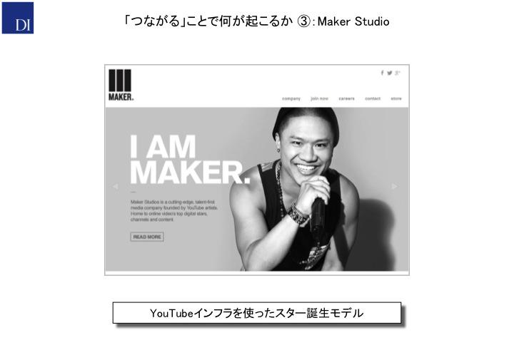 「つながる」ことで何が起こるか③:Maker Studio